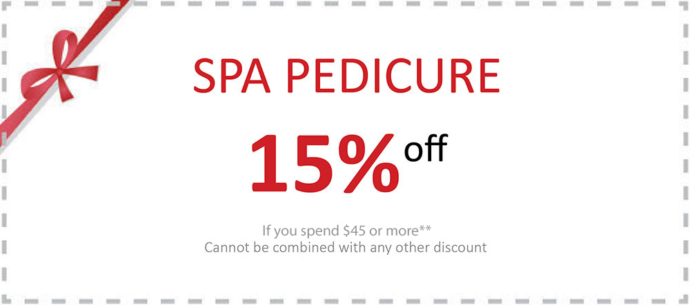 The special deals for spa pedicure.